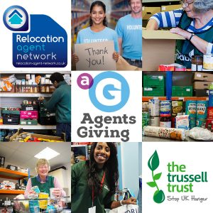 Agents Giving supporting local foodbanks