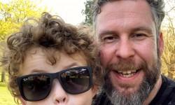 Godfrey Haire of Arun Estates fundraising for Rainbow Trust Children's Charity