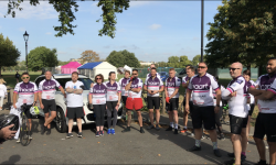 Sue Morhall of Spicerhaart is raising funds for Magic Moments with a London to Brighton Cycle Challenge