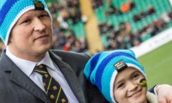 Glyn McKenna of Nock Deighton raising funds for 'Harry'