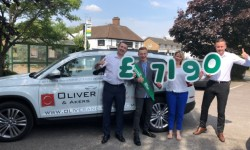 Oliver & Akers Estate Agents 5th Annual Charity Golf Day