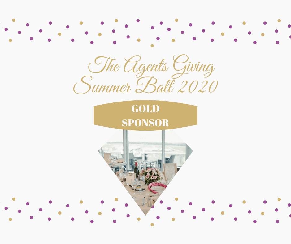 AGENTS GIVING SUMMER BALL GOLD SPONSOR