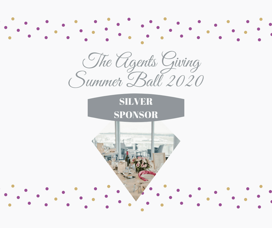 silver sponsorship package at Agents Giving Summer Ball 2020