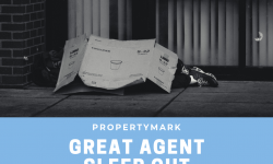 Propertymark's Great Agent Sleepout