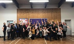 JANE DANCES AGAIN IN HILLINGDON STRICTLY COMPETITION