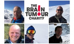 Patron Phil heads Team MovieIQ's Everest in the Alps challenge