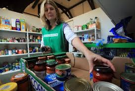 Agents Giving Emma Vigus Food bank