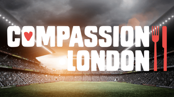 Northfields supporting compassion london at wembley stadium