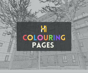 X1 Lettings Colouring-Pages