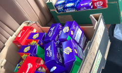 Murray Lee 'You Donate We Deliver' Easter Eggs