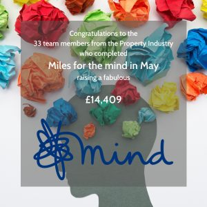 Fundraising for Miles fo the mind in May