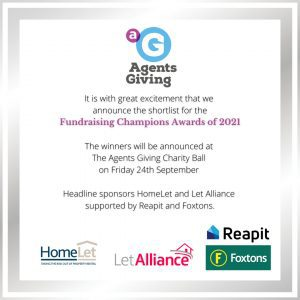 Agents Giving Charity Fundraising Awards