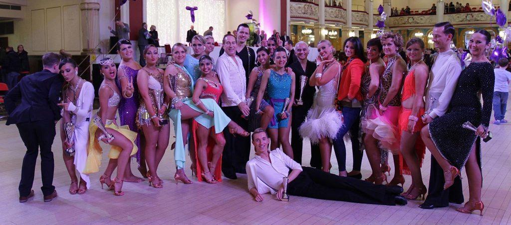 Wright Rythm Dance Studio teach Agents Giving Glitter Ball Contestants